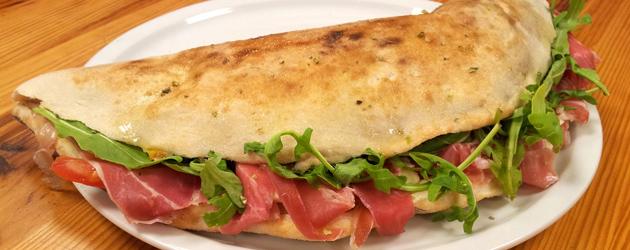 Pizza à emporter : Calzone d'été