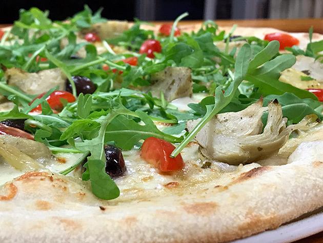 Carciofi : Pizza aux artichauts à La Case à Pizza